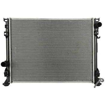 Prime Choice Auto Parts RK1095 New Aluminum Radiator