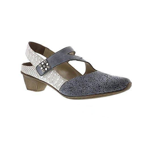 (Rieker Women's Toot Open Court Shoes 40 M EU/ 8.5-9 B(M) US Jeans )