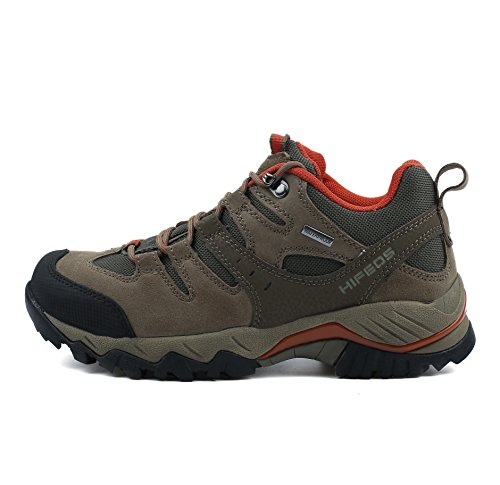 Pictures of HIFEOS Hiking BootsMens Womens Unisex Suede Leather 7