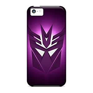 Flexible Tpu Back Case Cover For Iphone 5c - Decepticons Logo