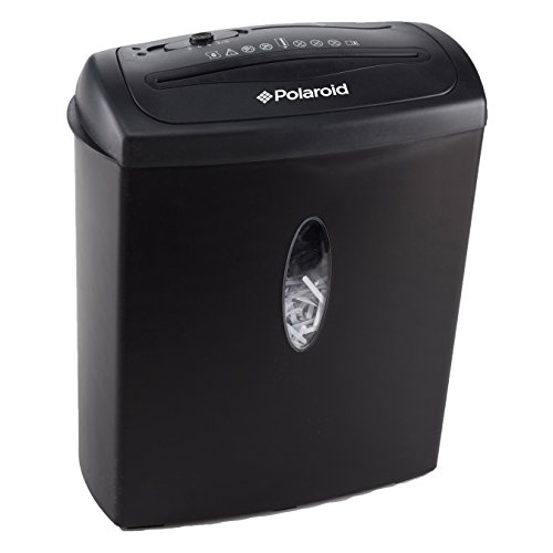 Polaroid Paper Shredder 8 Sheet Capacity