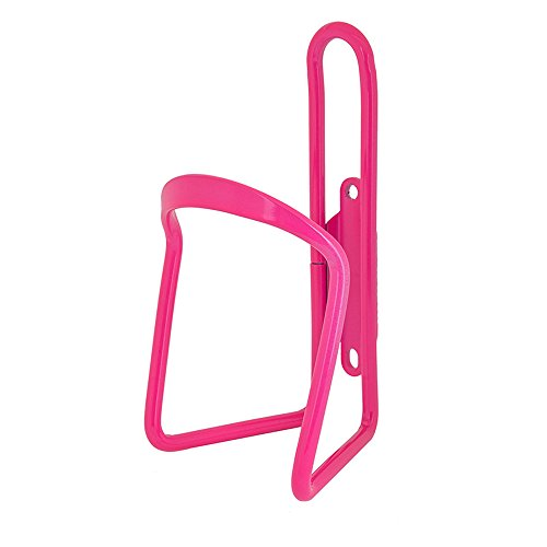 (Sunlite Alloy Bicycle Water Bottle Cage, Neon Pink)
