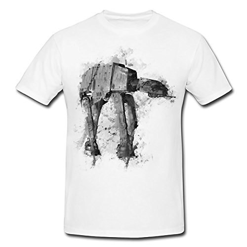 AT AT T-Shirt Herren, Men mit stylischen Motiv von Paul Sinus