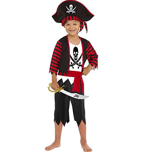Boys Pirate Costume Children's Pirate Role Play