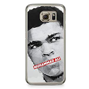 Muhammad Ali Samsung Galaxy S6 Transparent Edge Case - Heroes Collection