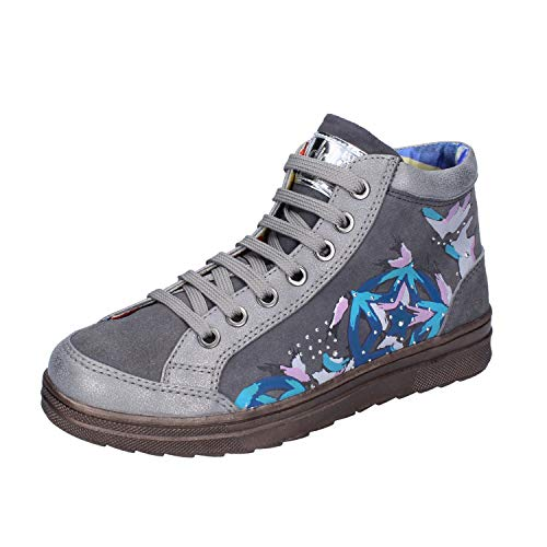 DIDI BLU Fashion-Sneakers Baby-Girls Suede Grey 3.5 US