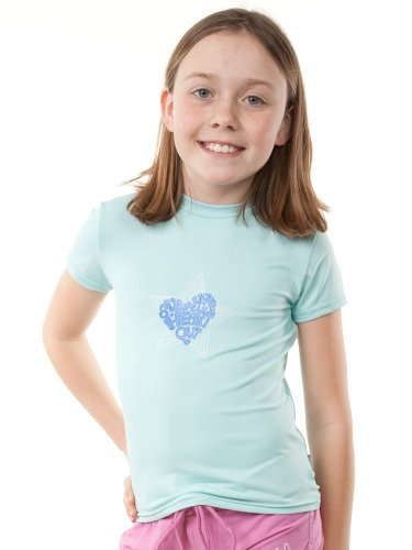 ONeill Girls Skins Shortsleeve Rash