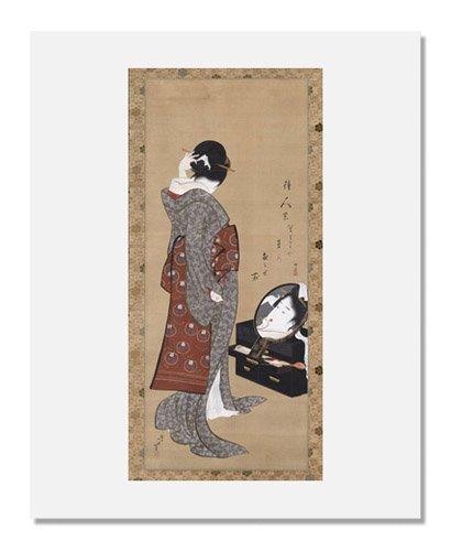 Amazon Katsushika Hokusai Woman Looking At Herself In A Mirror