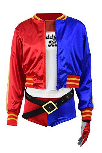 RongJun Harley Cosplay Costume Shirt Womens Halloween Daddy's