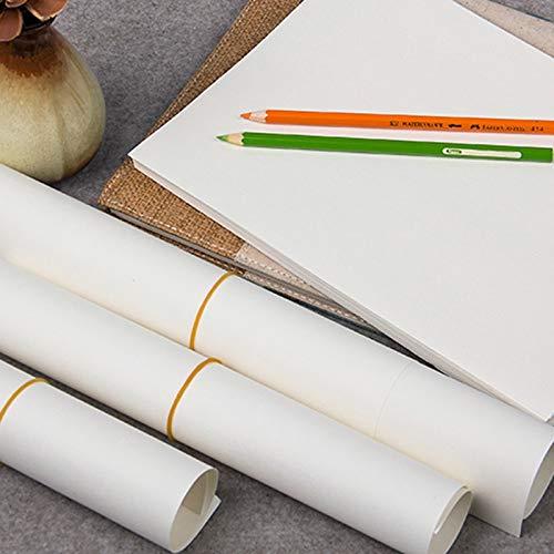 ZTH Blei-Zeichnung 8K (50 (50 (50 Blätter) Skizzen-Papier Zeichen-Papier 4K (20 Blätter) Blei-Papier 16k (50 Blätter) Verschleißfestes Papier Zeichenpapier A+ (größe : 4k) dfa915