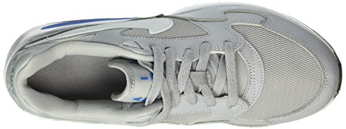 Nike Wolf Grey / White-Photo Blue-Blk, Zapatillas de Deporte para Niños Gris (Wolf Grey / White-Photo Blue-Blk)