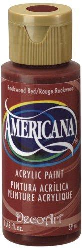 (DecoArt Americana Acrylic Multi-Purpose Paint, Rookwood Red by Deco Art)