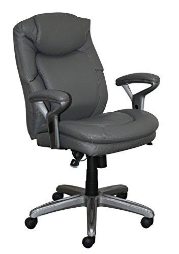 Serta CHR10052A Wellness by Design Mid-Back Office Chair, Gr