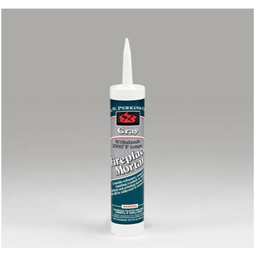 Gray Fireplace Mortar - 10.3 oz Cartridge (Fireplace Mortar Gray compare prices)