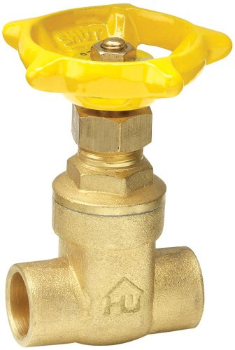 ProChannel VGTCMPA8PA Gate Valve with 200 PSI Brass Compr...