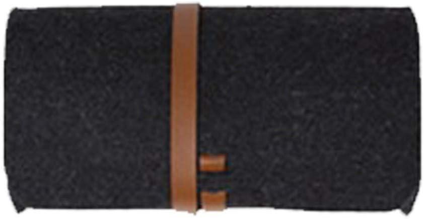 HQWLCIYD Estuche de lápices Estuche para lentes Cierre de cinturón Fieltro Bolsas Bolsos Tipo liado Gafas de lentes portátiles de color sólido Estuche protector para bolsas, Estilo6: Amazon.es: Oficina y papelería