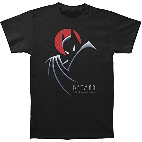 Batman+Shirts Products : Trevco Men's Batman the Animated Series Behind the Cape Adult T-Shirt