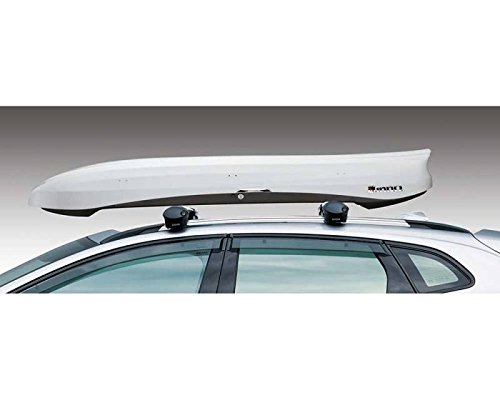INNO BRM660WH Wedge Cargo Box - 11 Cubic FT (Gloss White)