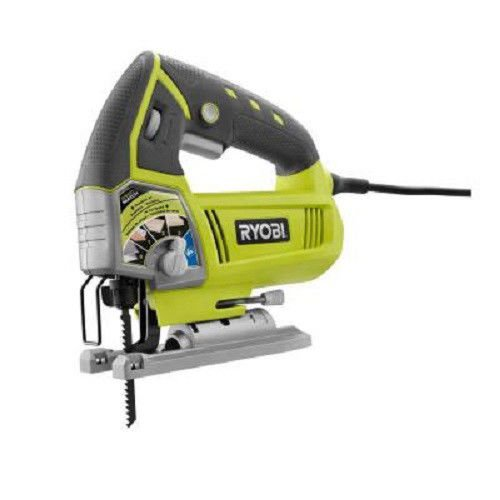 Reconditioned Jigsaw - Ryobi ZRJS481LG 4.8 Amp Variable-Speed Orbital Jigsaw (Certified Refurbished)