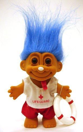 mejor moda My Lucky LIFEGUARD Troll Doll Doll Doll (azul Hair) by Russ Berrie  solo para ti