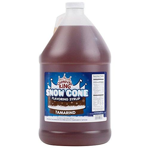 Tabletop King 1 Gallon Tamarind Snow Cone Syrup - 4/Case