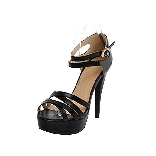 Zapatos azules de punta abierta Gezer para mujer Calidad Envío gratuito para la venta yntKCZ