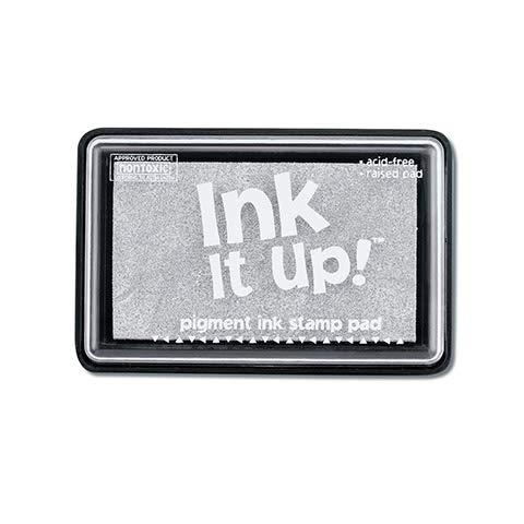 Darice Pigment Ink Stamp Pad - Silver