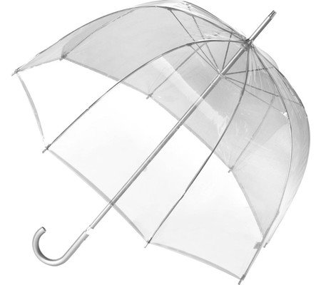 Totes Signature Manual Bubble (Clear Bubble Umbrella)