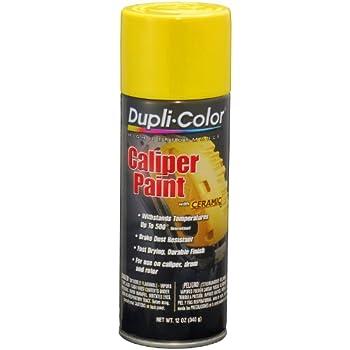 Amazon.com: Dupli-Color DE1642 Ceramic Daytona Yellow Engine Paint ...
