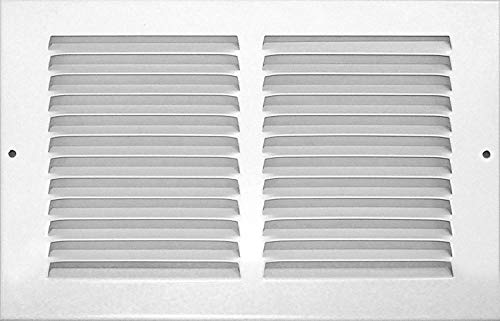 - Accord ABRGWH126 Return Grille with 1/2-Inch Fin Louvered, 12-Inch x 6-Inch(Duct Opening Measurements), White