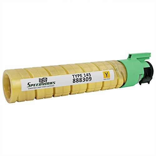 SpeedyInks Ricoh 888309 Compatible Type 145 High Yield Yellow Laser Toner Cartridge for use in Aficio CL4000DN, SP C410DN, SP C411DN, & SP C420DN