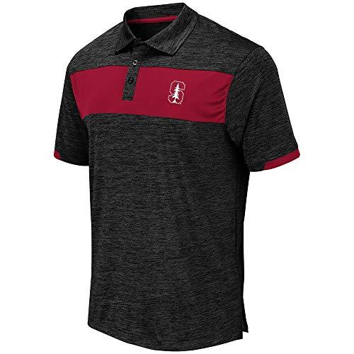 (Mens Stanford Cardinal Nelson Polo Shirt - XL)
