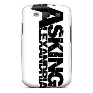 Ideal Wwaa Case Cover For Galaxy S3(asking Alexandria Band), Protective Stylish Case