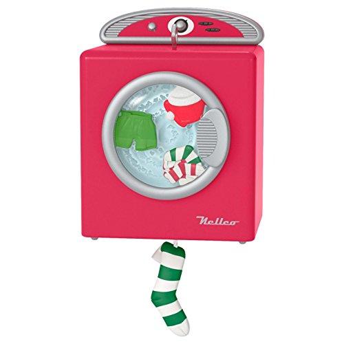 Santa's Merry Machine Mini (Four Jolly Santa Ornaments)