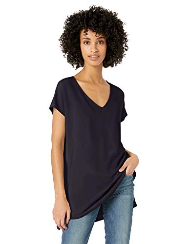 Amazon Brand – Daily Ritual Women's Supersoft Terry Oversized Dolman-Sleeve V-Neck Tunic