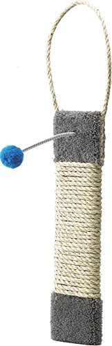 Ware Manufacturing Carpeted Kitty Scratch Surface Door Hanger Post, 19-Inch by Ware Manufacturing