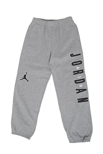 Nike Big Boys' Jordan Graphic Fleece Pants Heather Grey XL (18-20) by NIKE