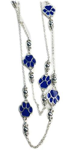 NCAA Kentucky Wildcats Women's Wildcats Paw Necklace