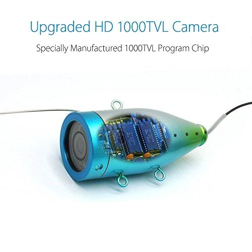 Eyoyo underwater fishing camera video fish finder for Underwater camera fishing