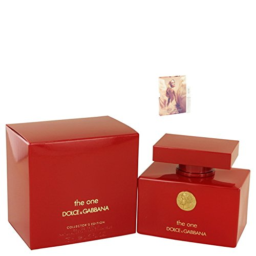 Dolcë & Gabbäna Thé Oné Perfúme Collector's Edition For Women 2.5 oz Eau De Parfum Spray Free! MA 0.05 - Rose Dolce Gabbana &