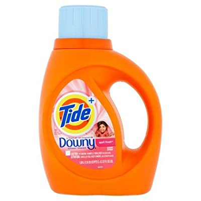 Tide+ A Touch of Downy Softness April Fresh Detergent 37 fl oz per bottle set of 5