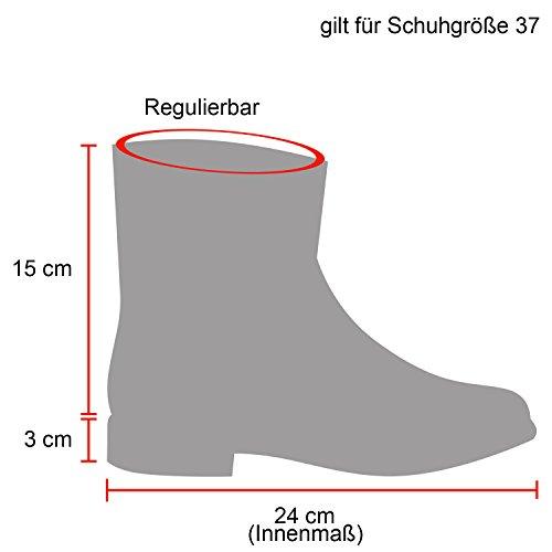 Stiefelparadies Unisex Worker Boots Herren Damen Stiefeletten Warm Gefütterte Stiefel Zipper Outdoor Schuhe Camouflage Booties Übergrößen Flandell Hellbraun
