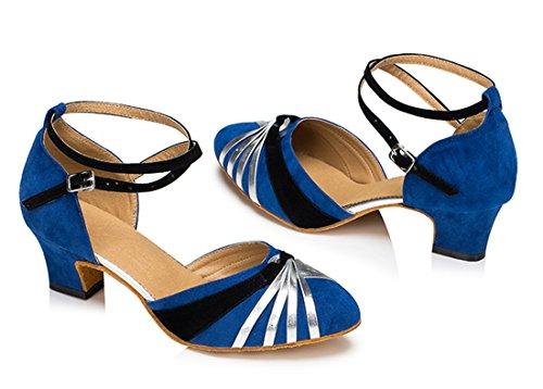 blue Joymod Rosso EU MGM Jazz Donna 5cm Moderno e 35 Suede Heel Z0qZwFd6x