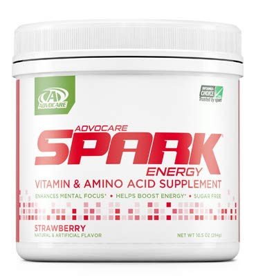 Advocare Strawberry Spark 42 Servings Best Energy Drink Sugar Free