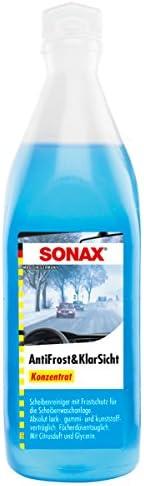 Sonax 3x 03321000 Antifrost Klarsicht Konzentrat Frostschutz Citrusduft 250ml Auto