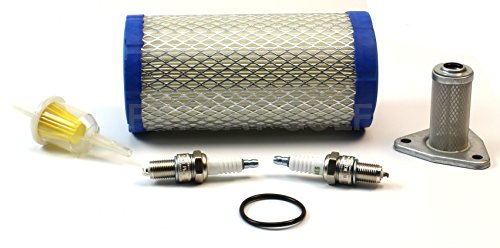 TUNE UP KIT WITH OIL FILTER FOR EZGO GAS 96+ ST350 4 CYCLE by Fat Cat Golf