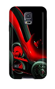 First-class Case Cover For Galaxy S5 Dual Protection Cover 3d