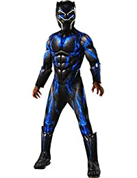 Rubie's Costume Deluxe Panther Child's Costume, Black/Blue, Small