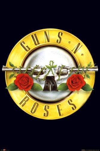 POSTER STOP ONLINE Guns N Roses - Music Poster/Print (Logo) (Size: 24