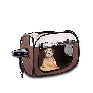 KATURN - Caja de Secado para Perros y Cachorros (tamaño Mediano): Amazon.es: Productos para mascotas